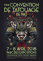 5 ème Convention de Tatouage de Pau